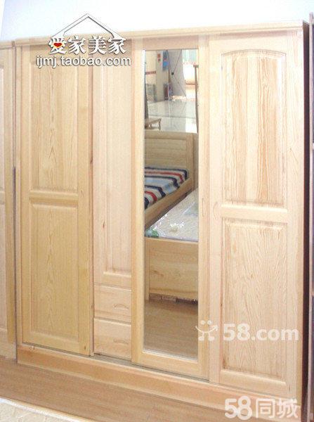 内藏镜子门,四门推拉门衣柜