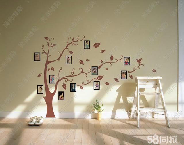 手绘照片墙