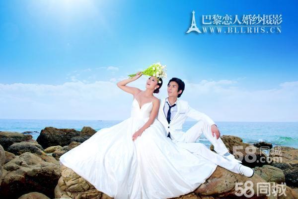 深圳海景婚纱照
