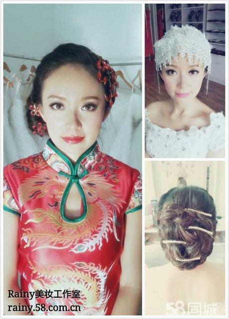 欧式新娘与中式晚礼造型