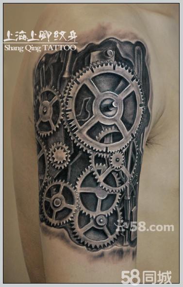 机械臂纹身