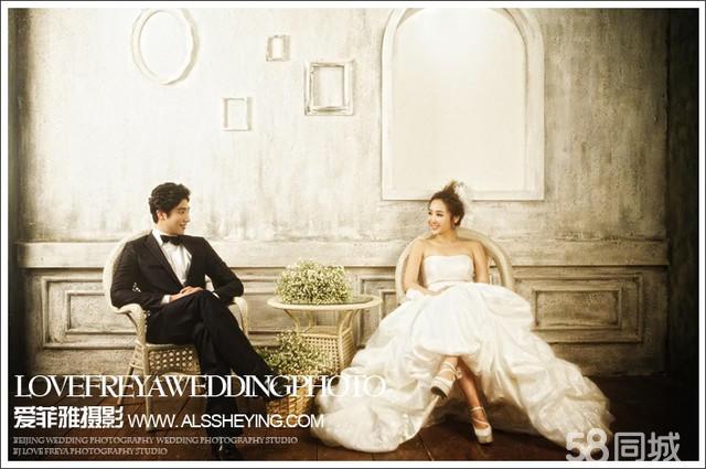 爱菲雅摄影 韩式婚纱照 欧式实景婚纱照