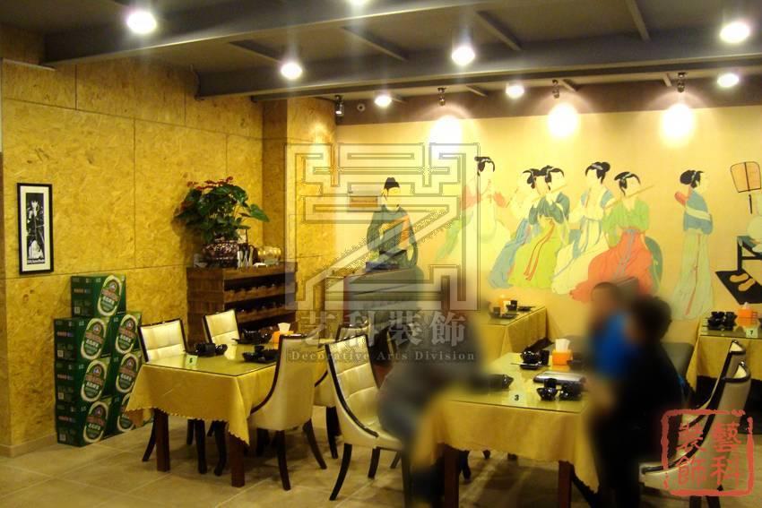 青岛私房菜馆装修 张 中餐厅装修图