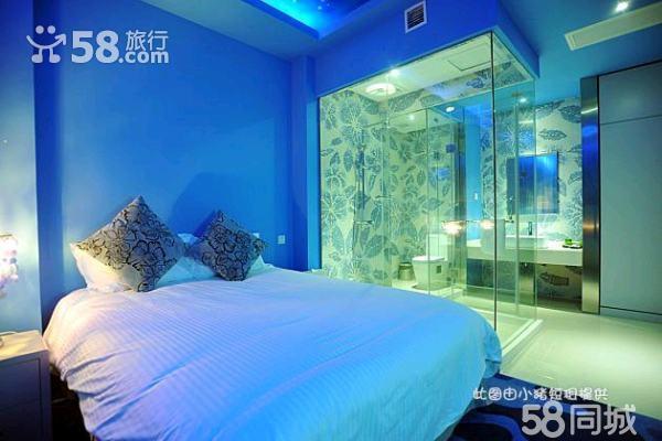 主题风格卧室蓝色系