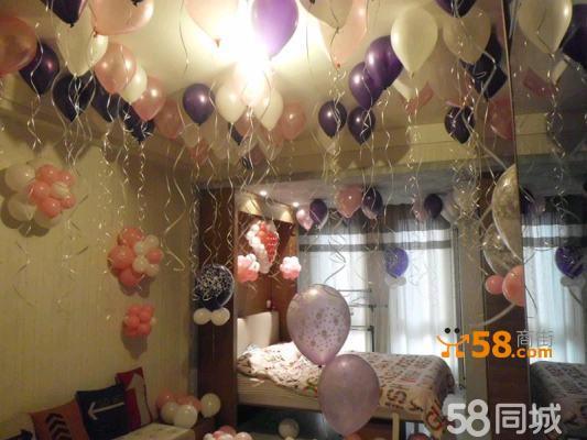北京批發氦氣球,婚禮氣球布置,婚房氣球裝飾,氣球柱