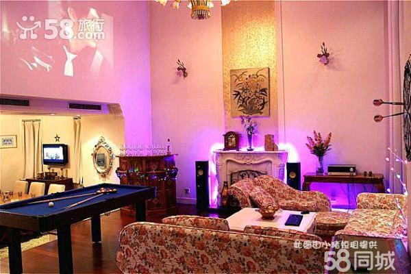奢华美式高级派对别墅k歌麻将棋牌游戏
