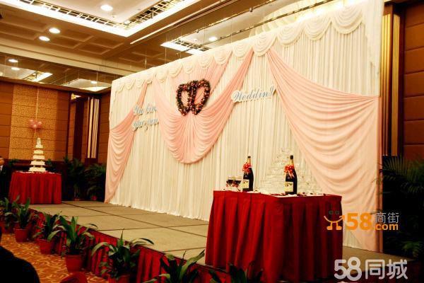 婚礼led屏幕素材香槟色