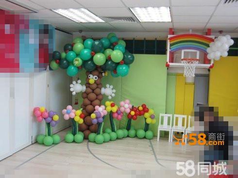 北京生日气球布置,气球造型制作,气球编制,场地策划