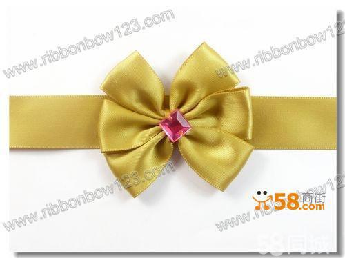 丝带蝴蝶结,礼品包装结手工制作欢迎询价
