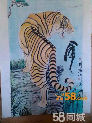 水彩画/挂饰/动物画