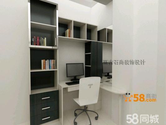 书柜,办公台,梳妆台 一体柜