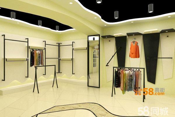 服装店整体设计道具制作