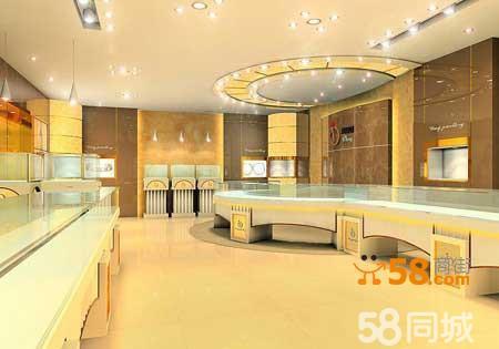 成都市区珠宝店装修设计陈列布置